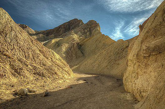 Golden Canyon Trail in Death Valley National Park by Constance Puttkemery