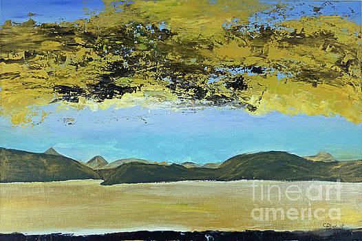 Golden-Dillon-Lake by Escudra Art
