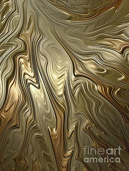Golden Flow by John Edwards