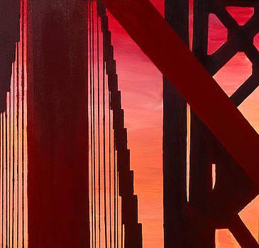 Golden Gate Art Deco Masterpiece by Rene Capone