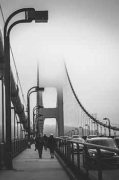 Golden Gate Fog by April Reppucci