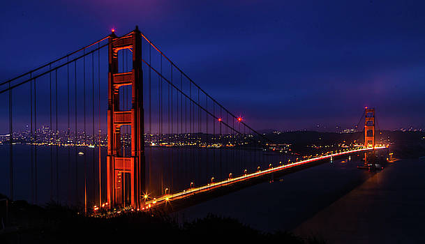 Golden Gate Glow by April Reppucci