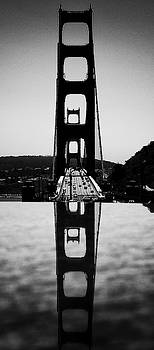 Golden Gate Reflection by Paul Croll