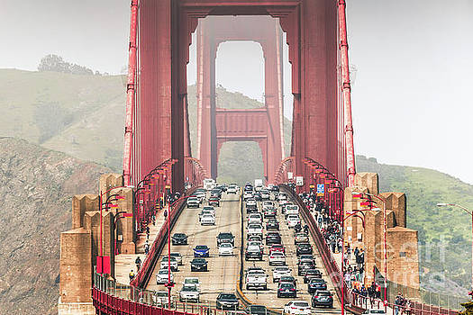 Golden Gate Traffic by Habashy Photography