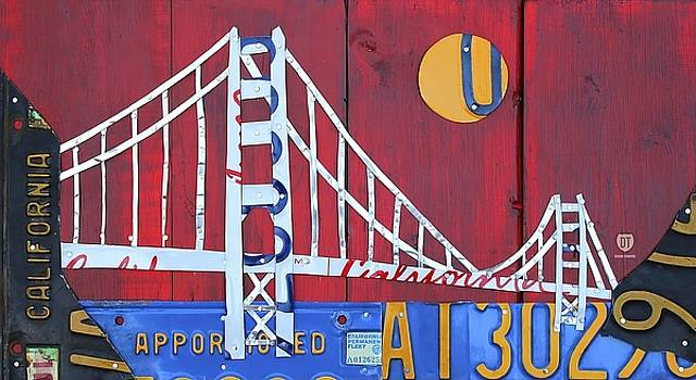 Golden Gate Wall Art by David Bowman