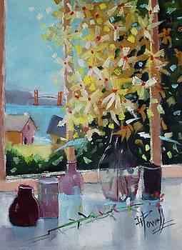 Golden Gate Window by George Powell