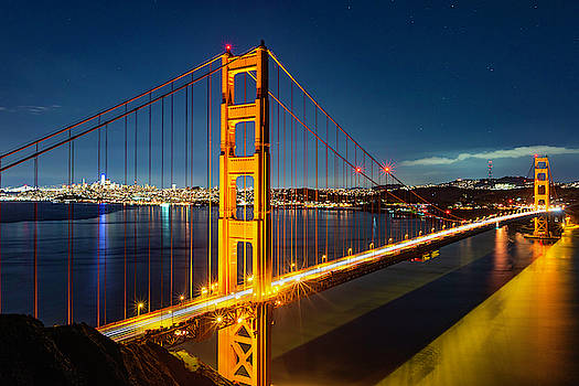 Golden Gate's Clear Night by Brian Young
