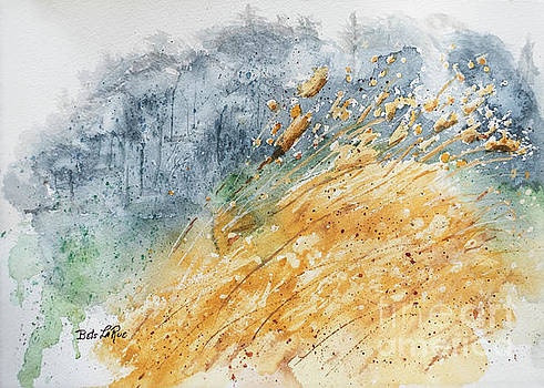Golden Grasses by Betty LaRue