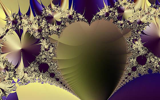 Golden Heart  by Ronni Dewey