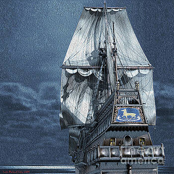 Golden Hind by moonshine by Lutz Roland Lehn