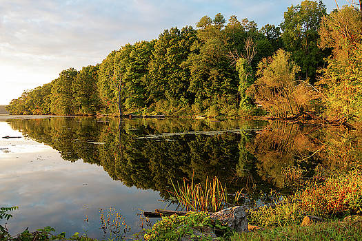 Golden Hour at Esopus Meadows by Jeff Severson