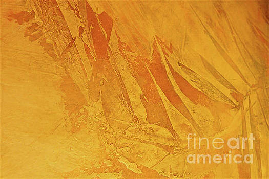 Sharon Williams Eng - Golden Leaf Abstract Pattern 300