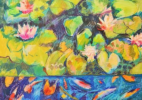 Golden Lilies by Aletha Kuschan