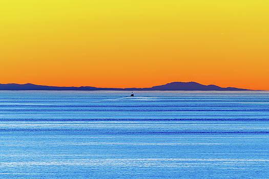Golden Sunset Series I I by Debbie Ann Powell