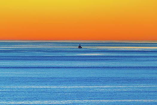 Golden Sunset Series I I I by Debbie Ann Powell