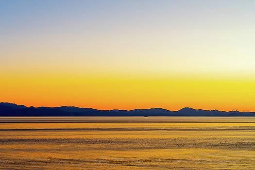 Golden Sunset Series I V by Debbie Ann Powell