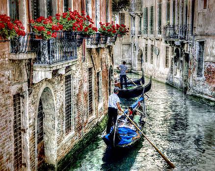 Gondola Ride by Pennie  McCracken