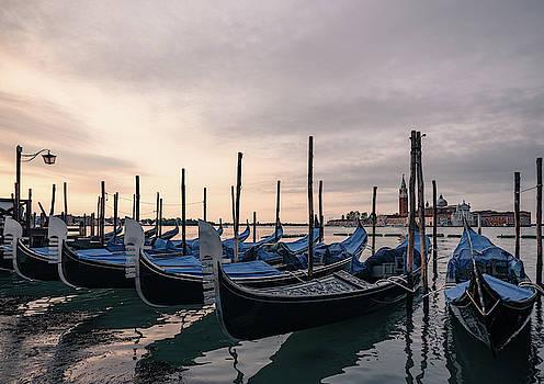 Gondolas by Sergey Simanovsky