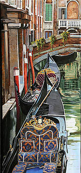 Gondole Colorate by Guido Borelli