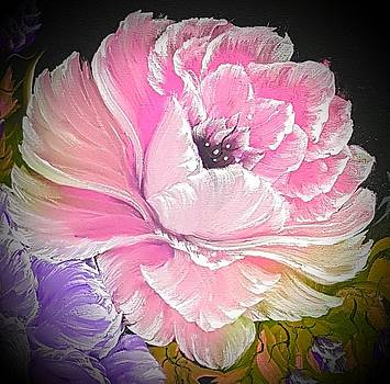 Gorgeous rose in pink by Angela Whitehouse