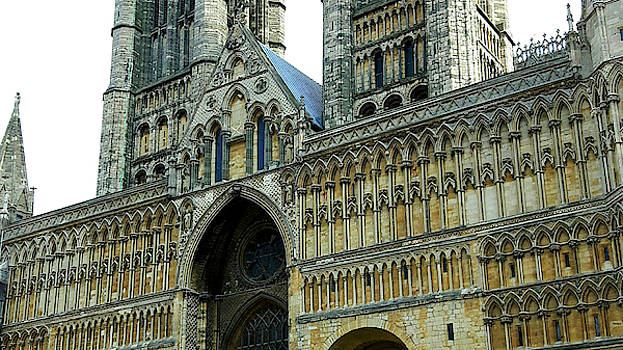Gothic Arches in Church Architecture, Lincoln Cathedral by Chris Gill