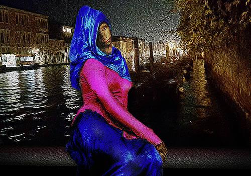 Gothic Beauty In Venezia by Lutz Roland Lehn