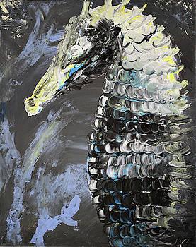 Gothic Seahorse by Dea Poirier