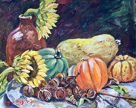 Gourds III by Ingrid Dohm