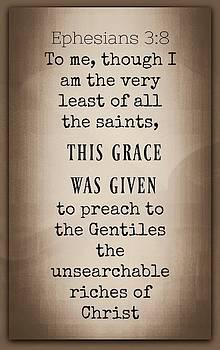 Grace 3 8 by David Norman