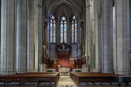 Grace Cathedral by Bill Gallagher