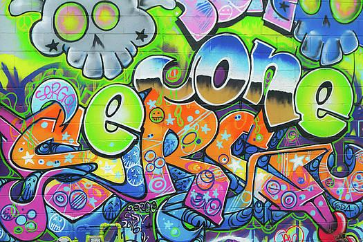 Graffiti - Color by Michael Hills