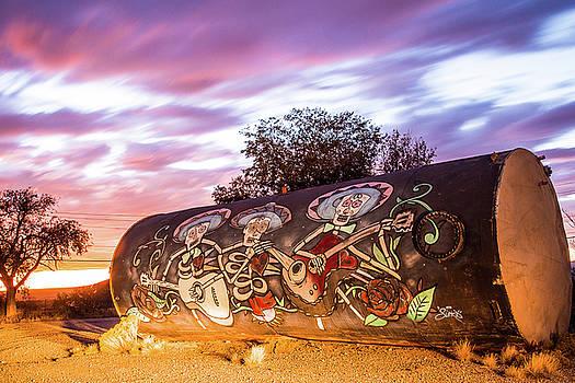Graffiti Desert Music by Steven Bateson
