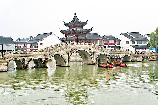Grand canal Suzhou by Nick Mares