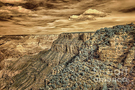 Grand Canyon in Infrared #2 by Norman Gabitzsch