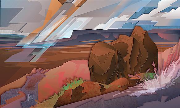 Garth Glazier - Grand Canyon North Rim Shower