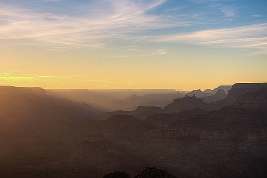 Grand Canyon Silhouettes  by Ray Devlin
