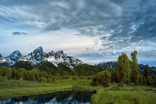Grand Tetons Mountain by Jon Glaser