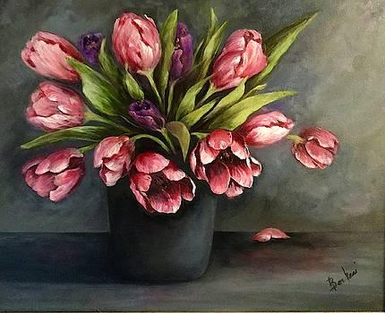 Grand Tulips by Anne Barberi
