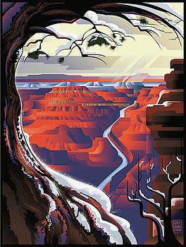 Garth Glazier - Grand Canyon Christmas
