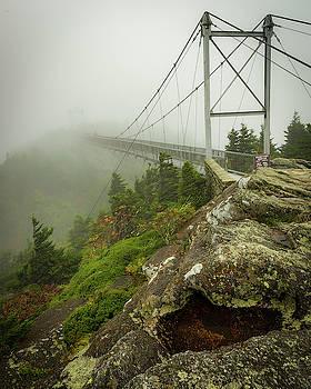 Grandfather Mountain Swinging Bridge by Mike Koenig