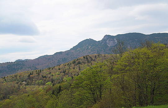 Grandfather Mountain View From The Parkway 2 by Cathy Lindsey
