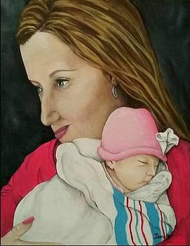 Grandma's Love-A First Grandchild  by Danett Britt