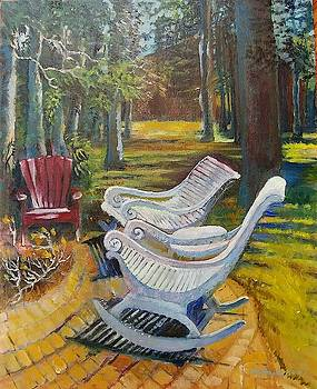 Grandpa's Cabin Chairs by Lilly Ramphal