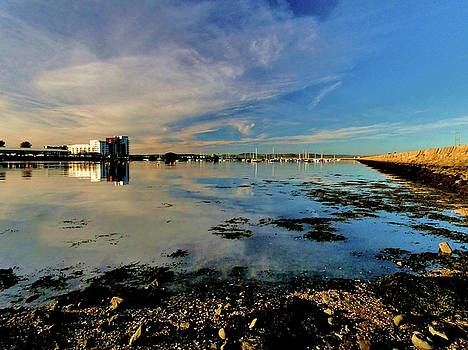 Granton Harbour by Nik Watt