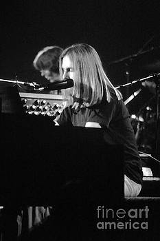 Susan Carella - Grateful Dead Concert Brent Mydland Black and White