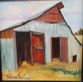 Gray Barn by Barbara Haviland