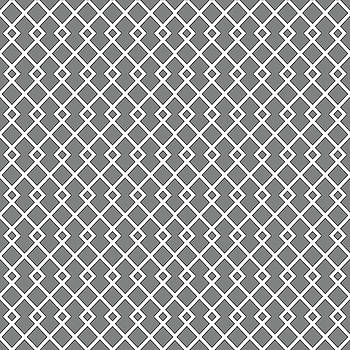 Gray Diamond Pattern by Ross