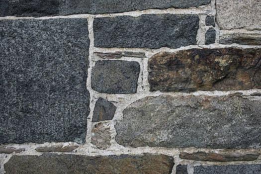 Gray Rock Wall #2 by Morgain Bailey