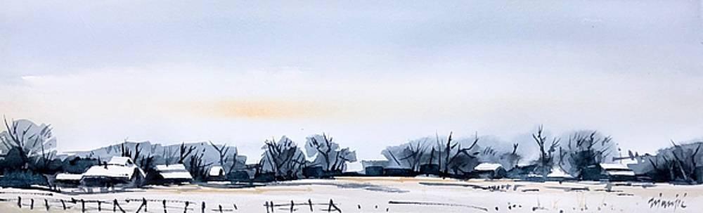 Gray Winter Day by Ugljesa Janjic