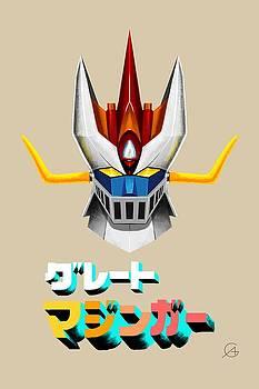 Andrea Gatti - Great Mazinger Head Logo